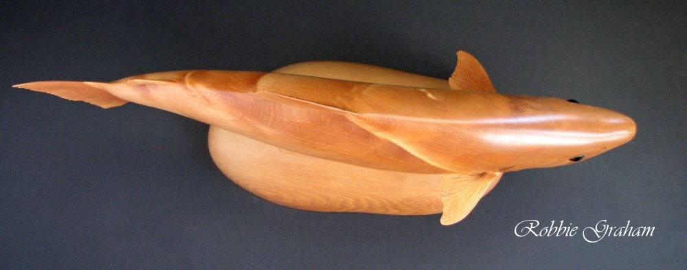 Trout carving by Robbie Graham