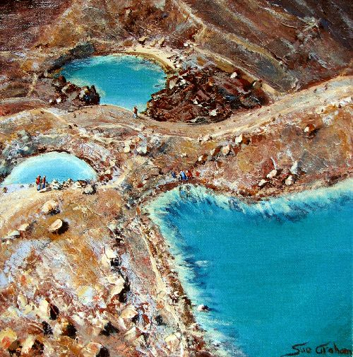 Emerald Lakes by sue graham