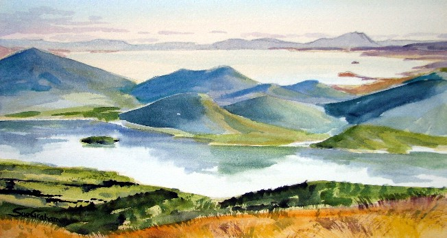 Ketetahi View by Sue Graham