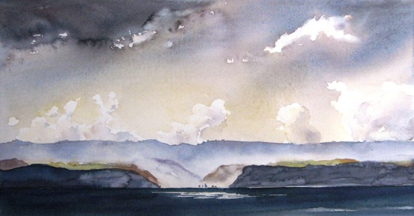 Watercolour Painting by Sue Graham